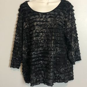 Notations plus size top